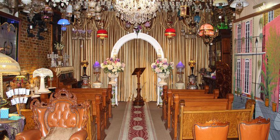 French Quarter Wedding Chapel wedding New Orleans