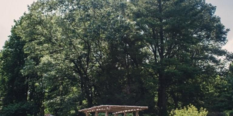 Bowman's Hill Wildflower Preserve wedding Philadelphia