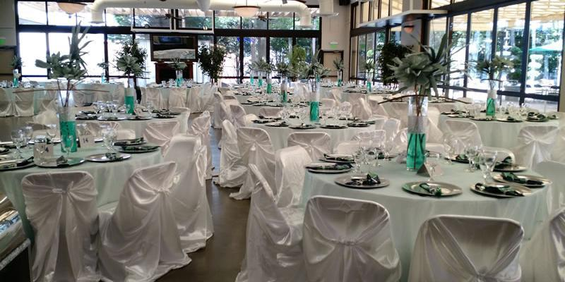 The SMS Catering Atrium wedding Charlotte