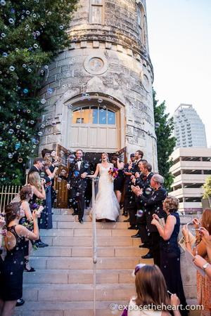 Travis Park Church wedding San Antonio