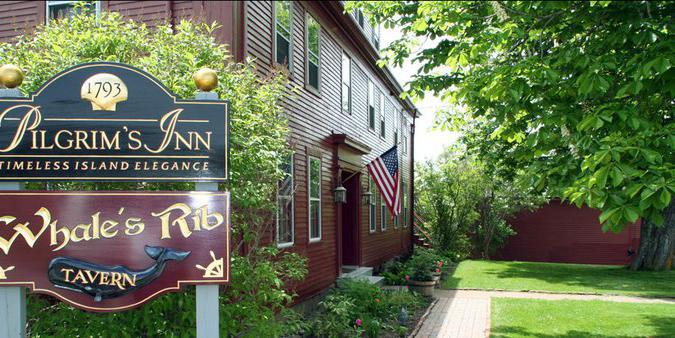 Pilgrim's Inn wedding Maine