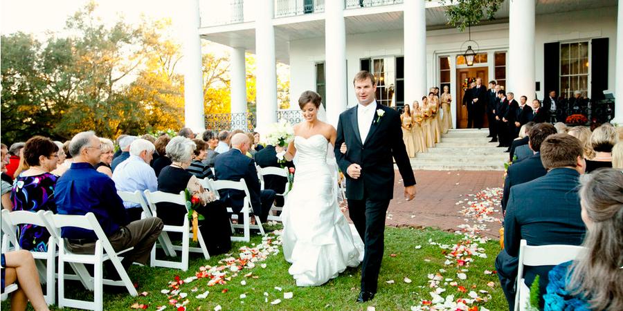 Dunleith Historic Inn wedding Mississippi