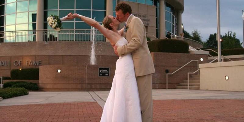 Women's Basketball Hall of Fame wedding Knoxville