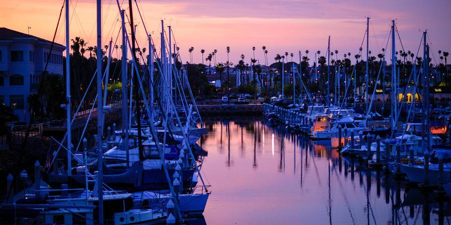 Los Angeles Yacht Club wedding Los Angeles