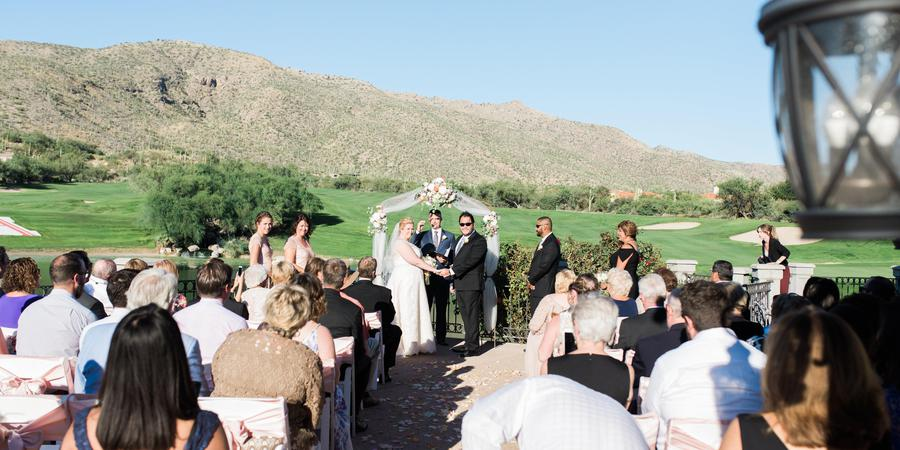 Arizona National Golf Club wedding Tucson