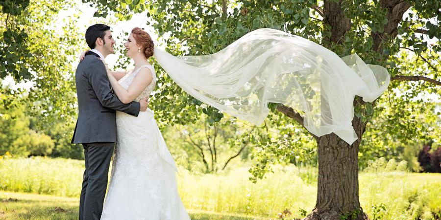 Dyck Arboretum of the Plains wedding Wichita