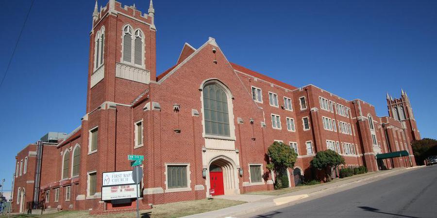 First Baptist Church of Oklahoma City wedding Oklahoma City