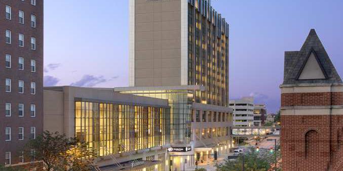 DoubleTree by Hilton Cedar Rapids Convention Complex wedding Des Moines