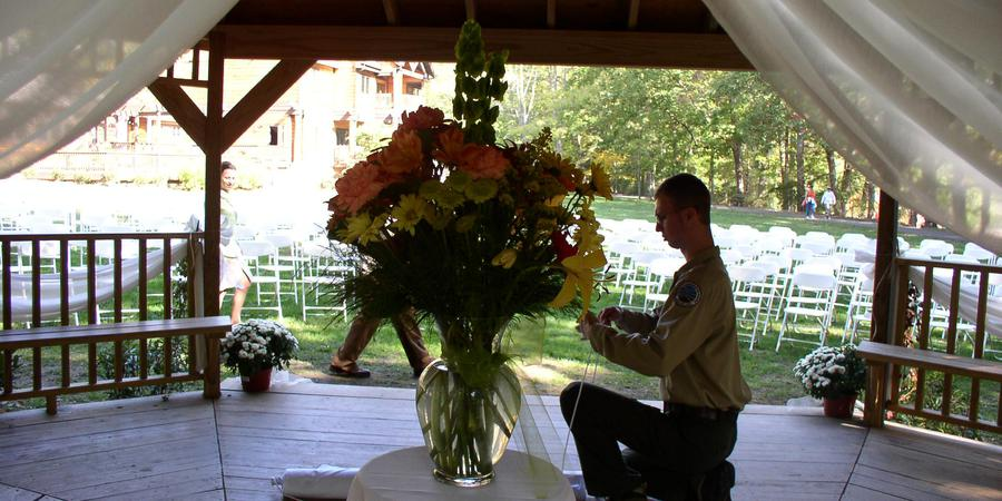 Hungry Mother State Park wedding Southwest Virginia