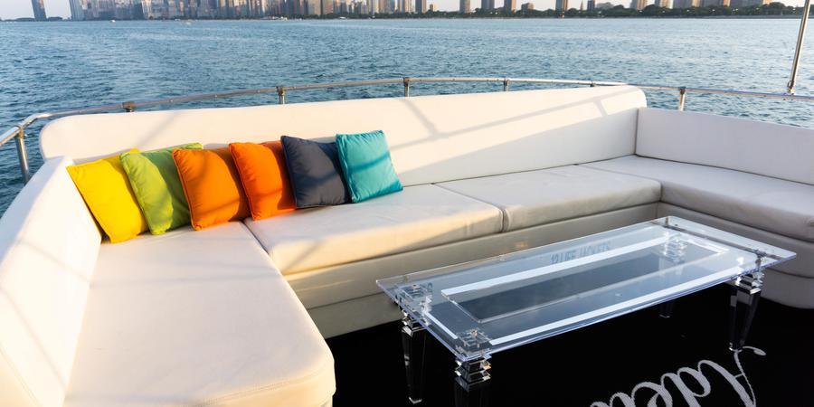 Chicago Private Yacht Rentals wedding Chicago