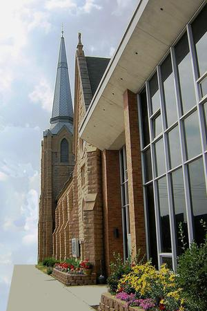 The Historic First Baptist Church of St. Paul wedding Minnesota