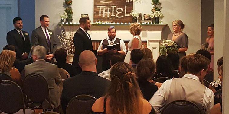 Marietta Museum Of History wedding Atlanta