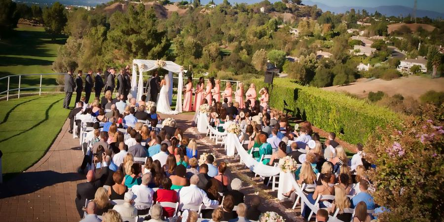 Braemar Country Club wedding Los Angeles