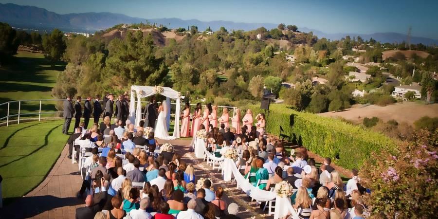 Braemar Country Club wedding Los Angeles