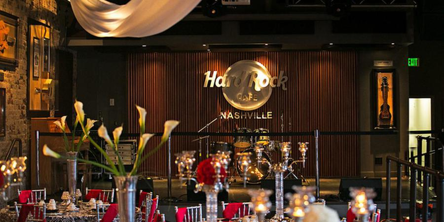 Hard Rock Cafe Nashville wedding Nashville