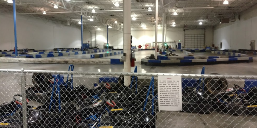 FastKart Indoor Speedway- Orem wedding Salt Lake City