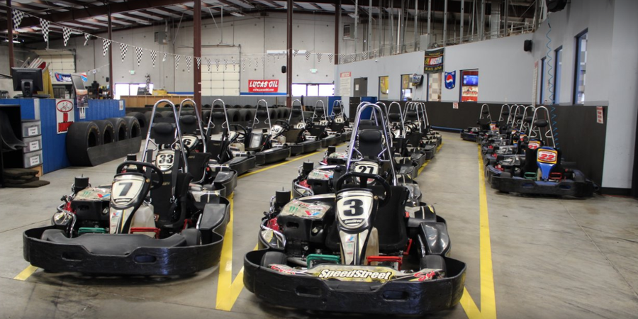 FastKart Indoor Speedway- Ogden wedding Salt Lake City