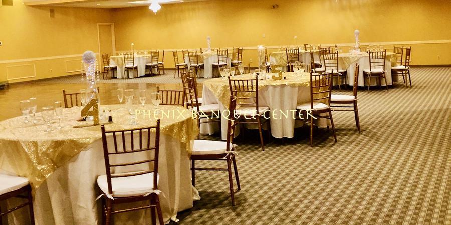 Phenix Banquet Center wedding Columbus