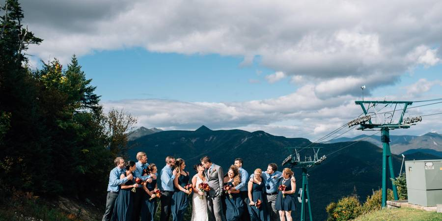 The Mountain Club on Loon wedding Great North Woods/White Mountains
