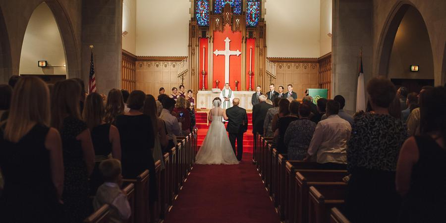 Mount Olivet Lutheran Church wedding Minnesota