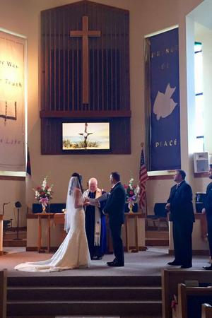 Sandbridge Community Chapel wedding Virginia Beach