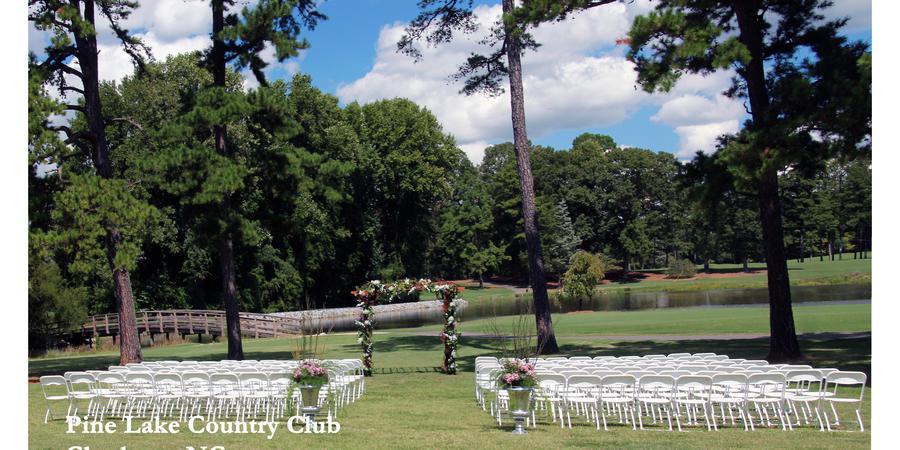 Pine Lake Country Club wedding Charlotte