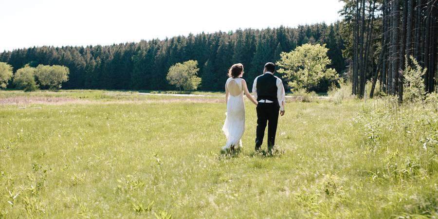 Glacier Hills County Park wedding Milwaukee