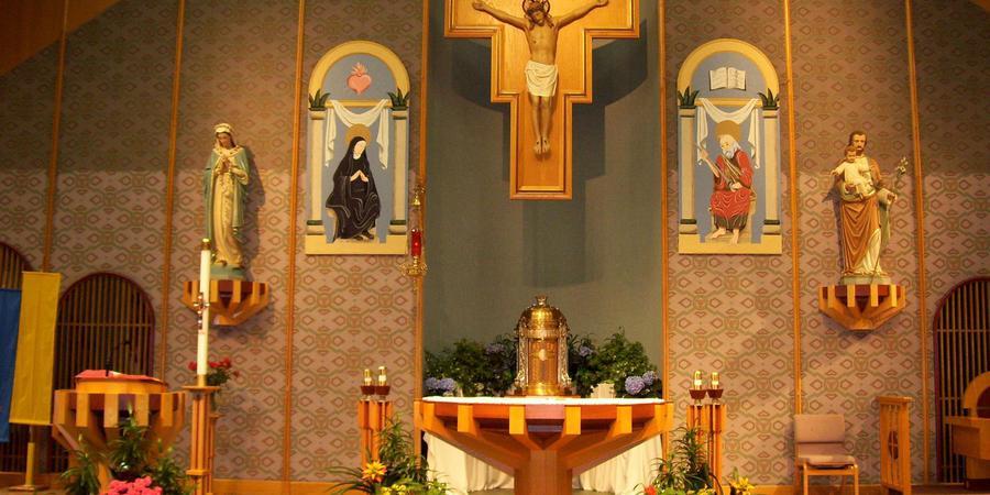 St Margaret Mary Parish Center wedding St. Louis