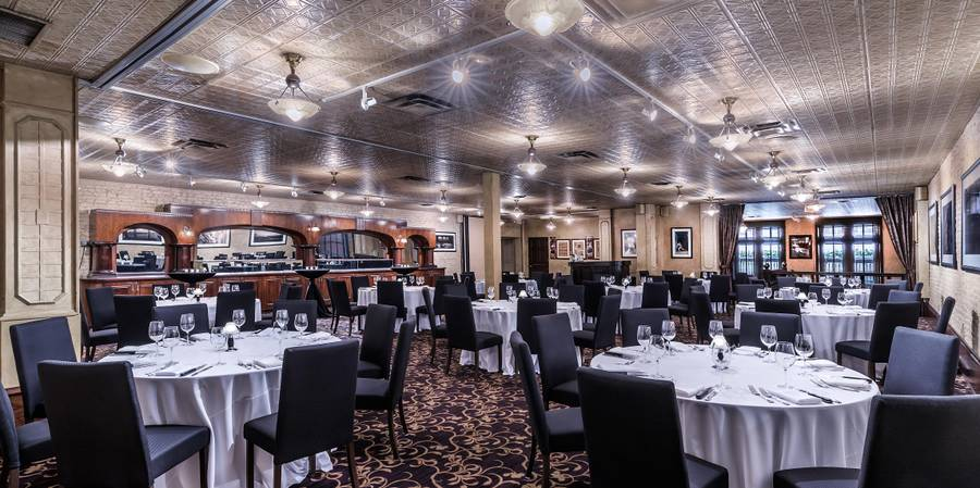 Harry Caray's Italian Steakhouse River North wedding Chicago