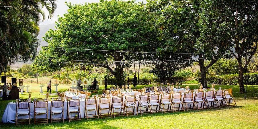 Maui Tropical Plantation & The Mill House Restaurant wedding Maui