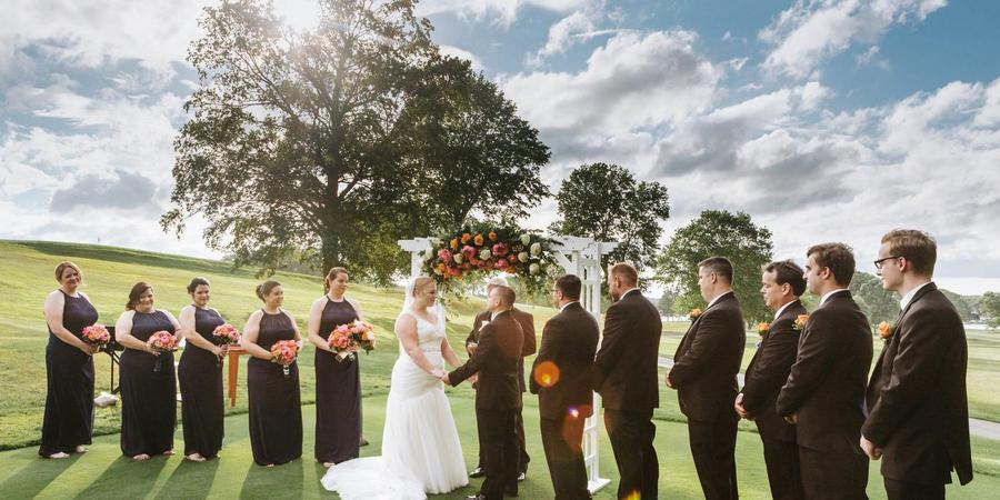Kernwood Country Club wedding North Shore