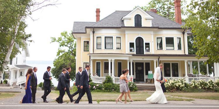 The Inns of Aurora wedding Finger Lakes