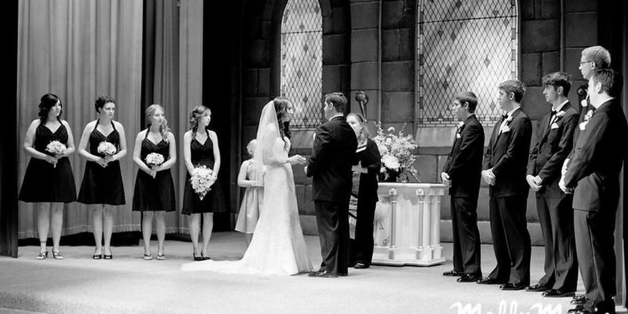 Eau Claire Masonic Ballroom wedding Eau Claire