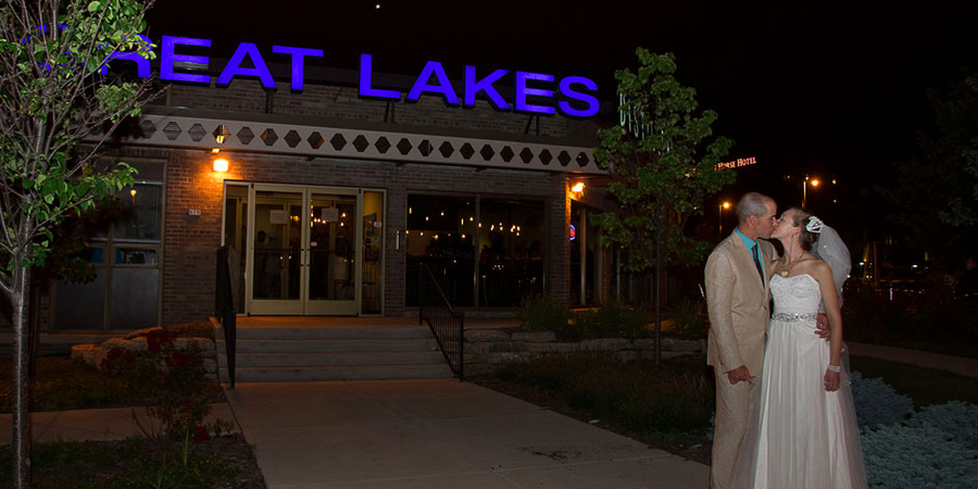 Great Lakes Distillery wedding Milwaukee