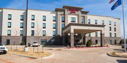 Hampton Inn & Suites El Reno wedding Oklahoma City