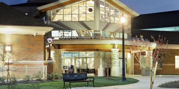 Cuyahoga Falls Natatorium Conference & Banquet Center wedding Cleveland