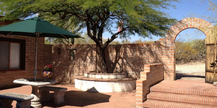 Desert Oasis Bed & Breakfast wedding Tucson
