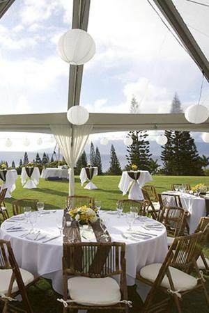 The Plantation House wedding Maui