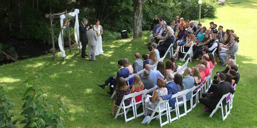 The Trailside Inn wedding Vermont