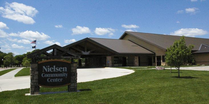 Nielsen Community Center wedding Nebraska