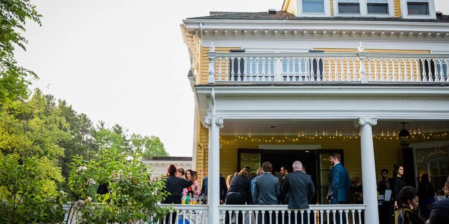John H. Pierce House wedding Boston