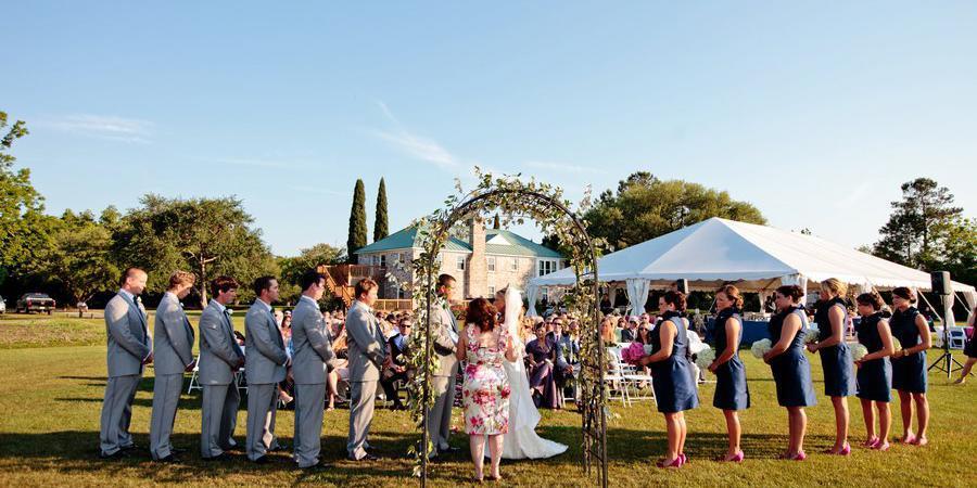 The Island House wedding Charleston
