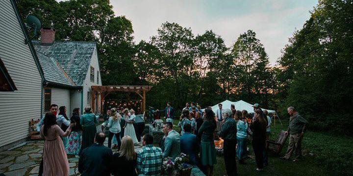 Margaret Dean Wildflower Estate wedding Maine