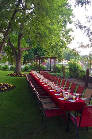 The Captain Wohlt Inn wedding St. Louis