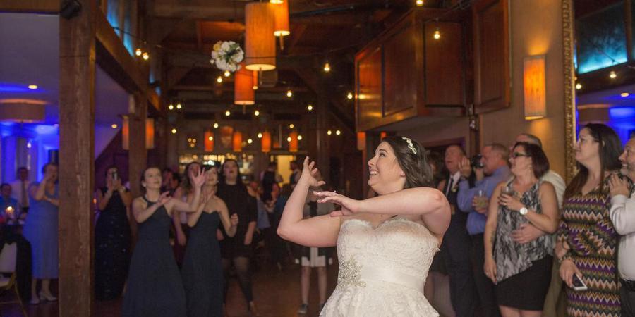 The Attic at Waterman's wedding Virginia Beach