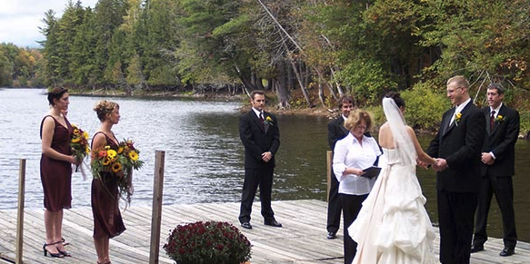 Northern Outdoors wedding Maine