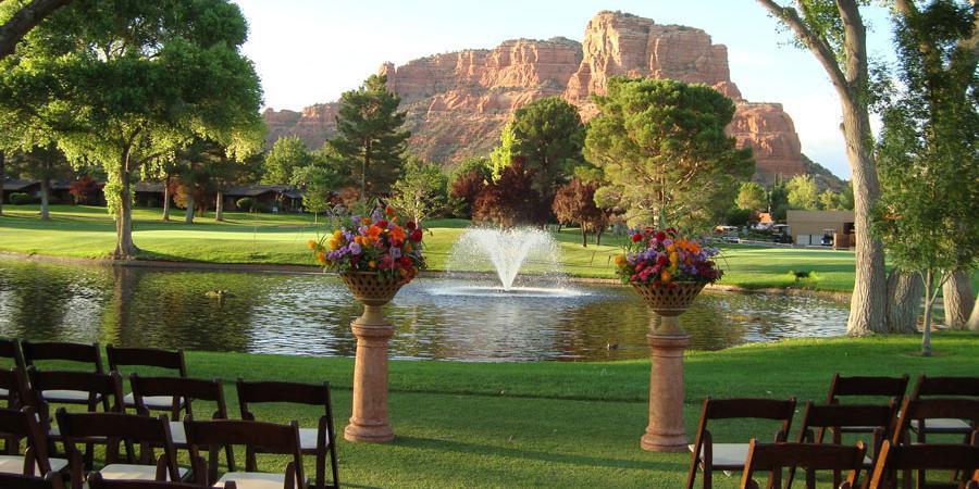 Redstone at Oakcreek Country Club wedding Sedona/Flagstaff