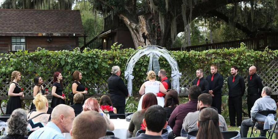 Berry Creek Cabins wedding Baton Rouge