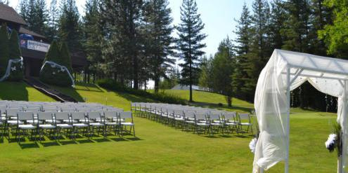 Shoshone Golf And Tennis Club wedding Idaho