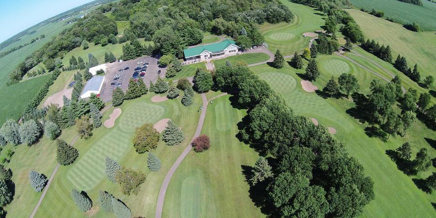 Clifton Highlands Golf Club wedding Eau Claire